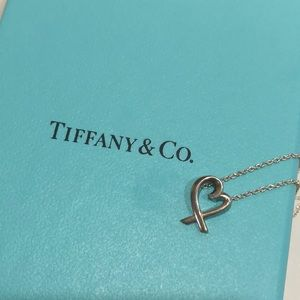 NWOT TIFFANY & CO. LOVING HEART PENDANT WITH CHAIN